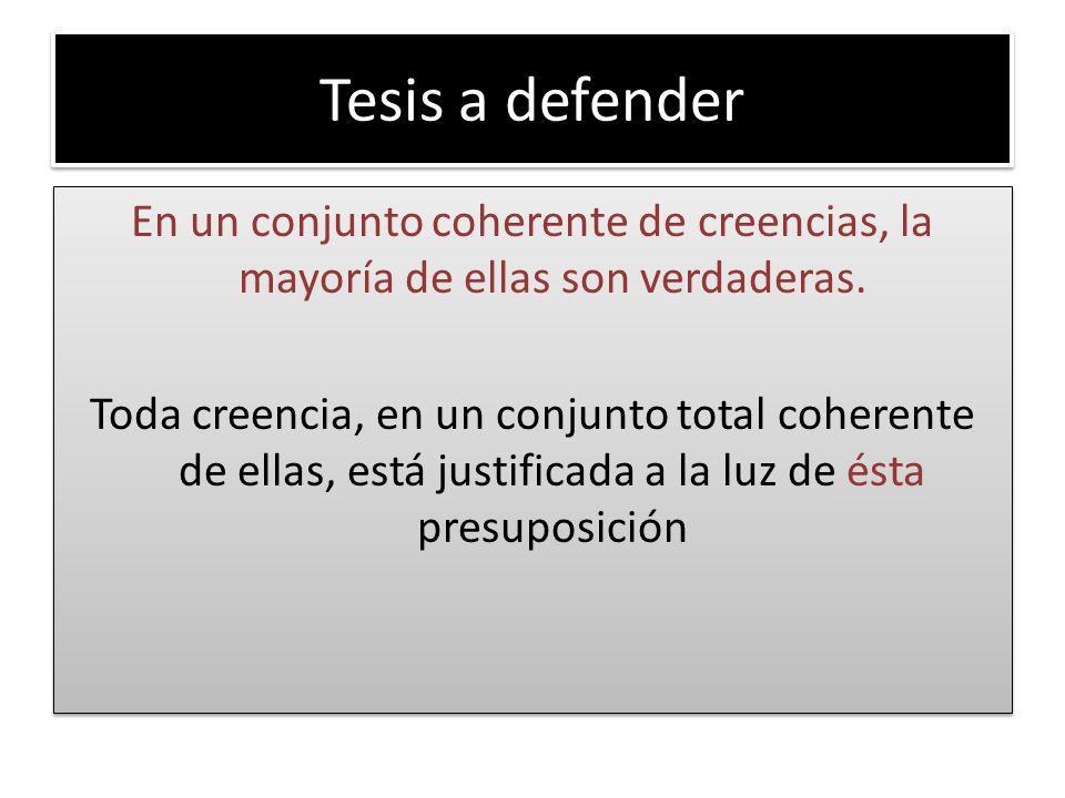 Tesis a defender