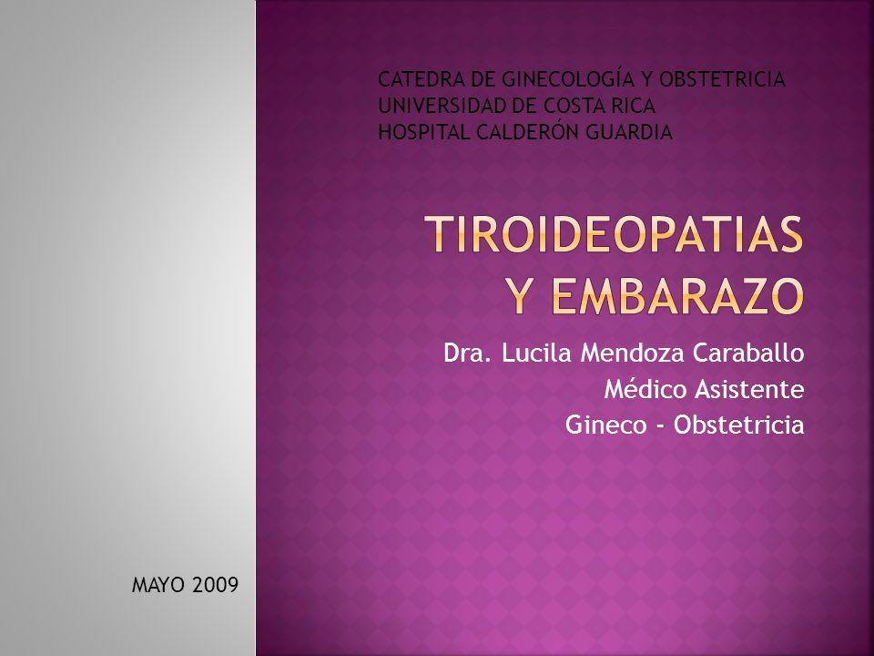 TIROIDEOPATIAS Y EMBARAZO