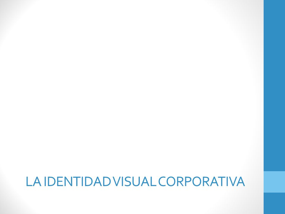 La identidad visual corporativa