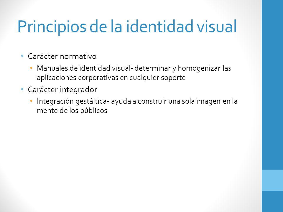 Principios de la identidad visual