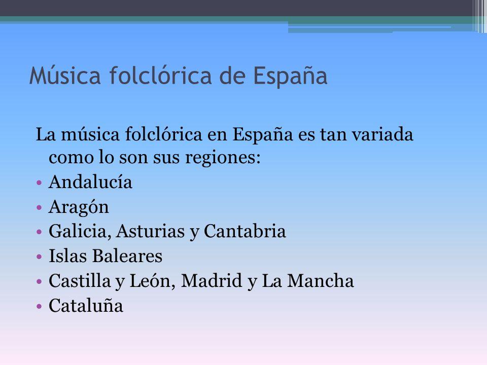 Música folclórica de España