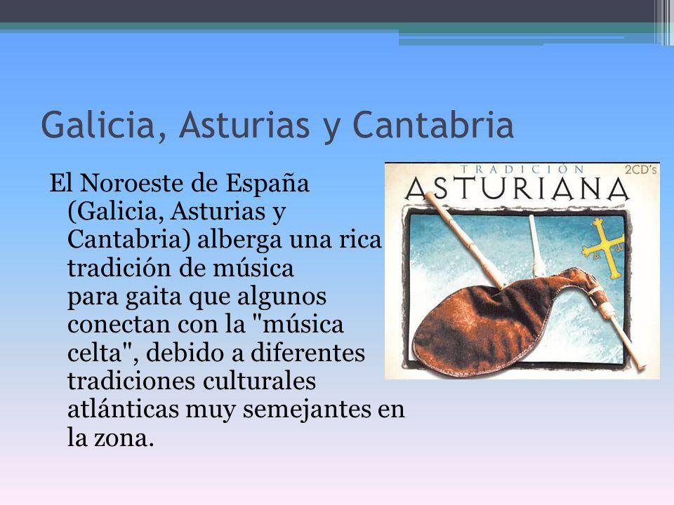 Galicia, Asturias y Cantabria