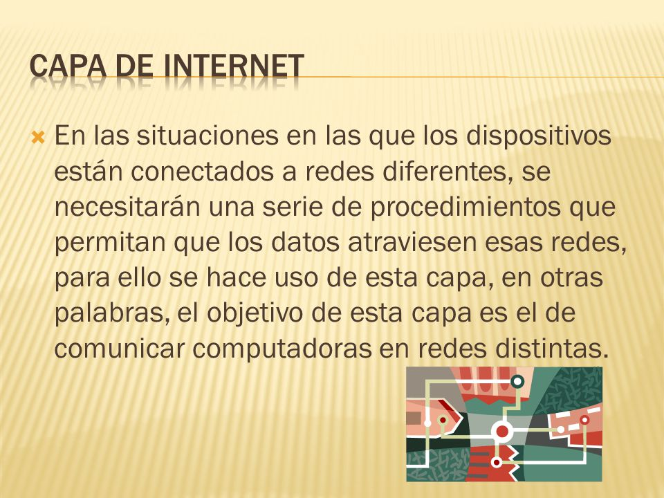 Capa de internet