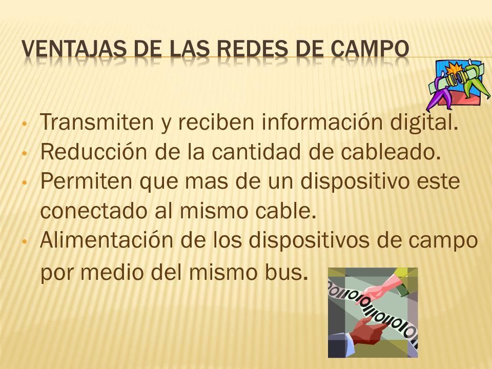 VENTAJAS DE LAS REDES DE CAMPO