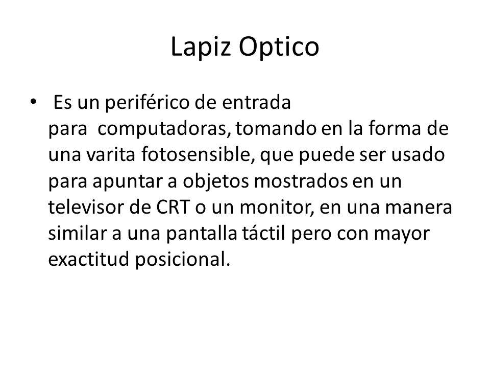 Lapiz Optico