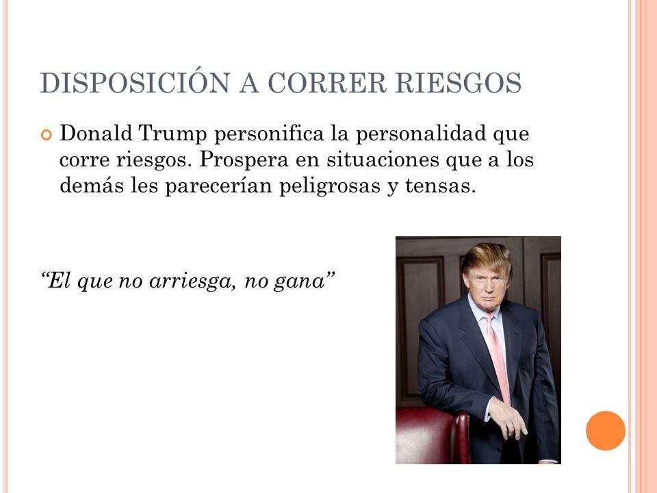 DISPOSICIÓN A CORRER RIESGOS