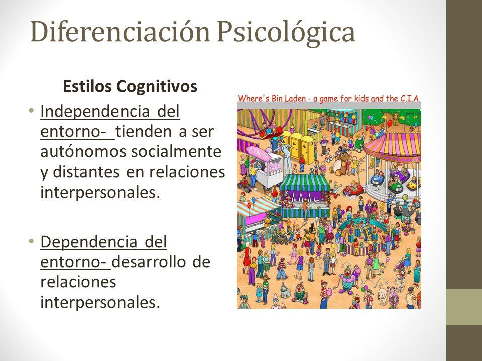 Diferenciación Psicológica