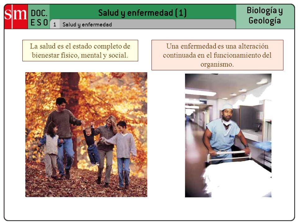 La salud es el estado completo de bienestar físico, mental y social.
