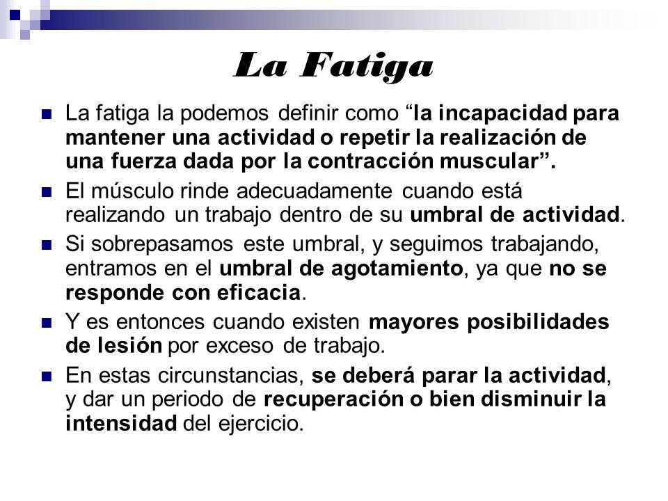 La Fatiga