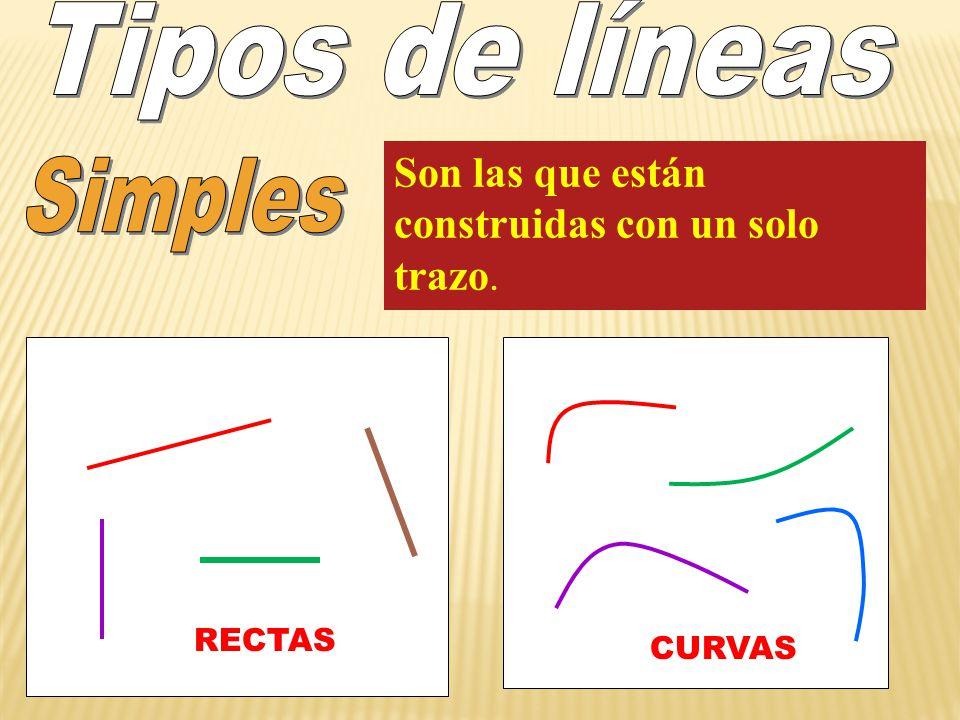 Tipos de líneas Simples
