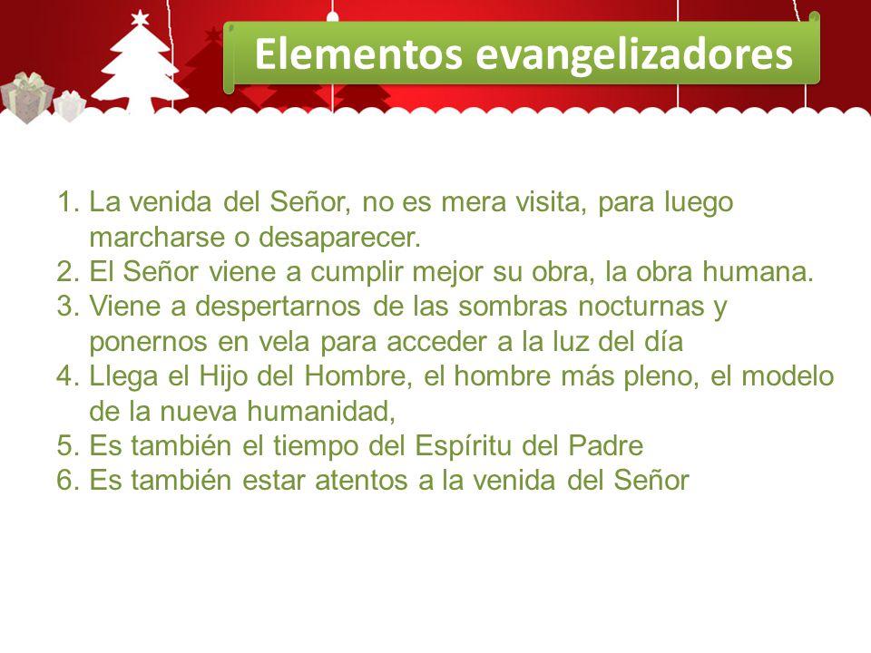 Elementos evangelizadores