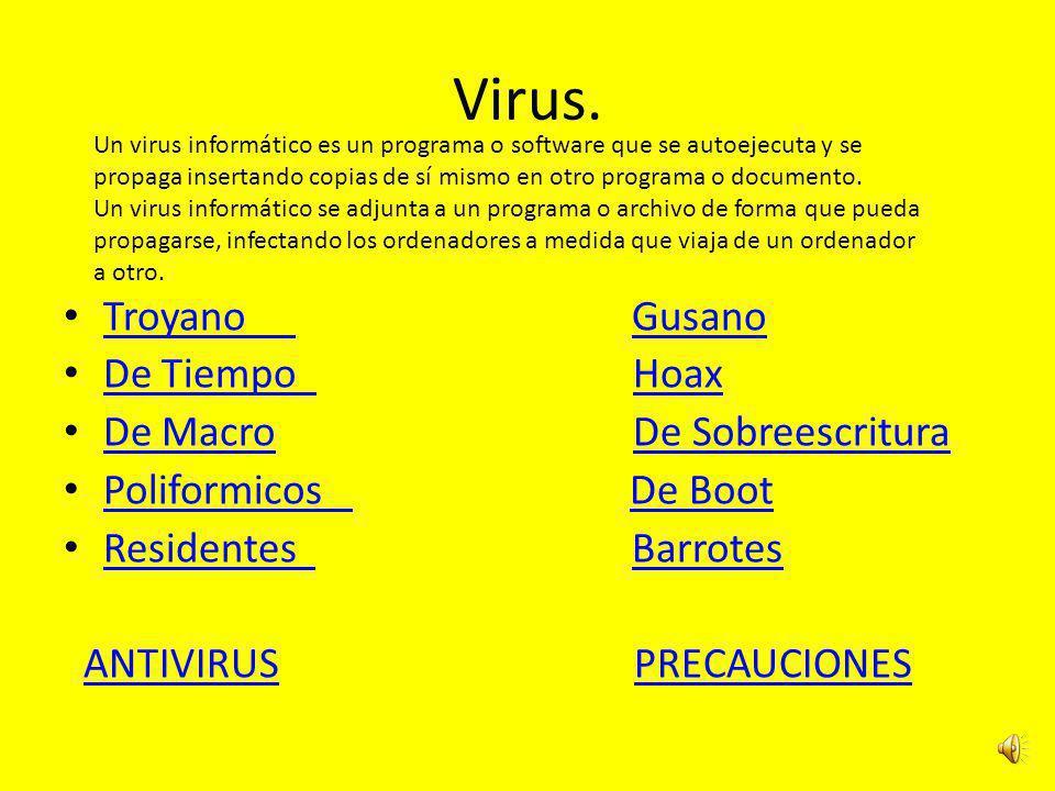 Virus. Troyano Gusano De Tiempo Hoax De Macro De Sobreescritura