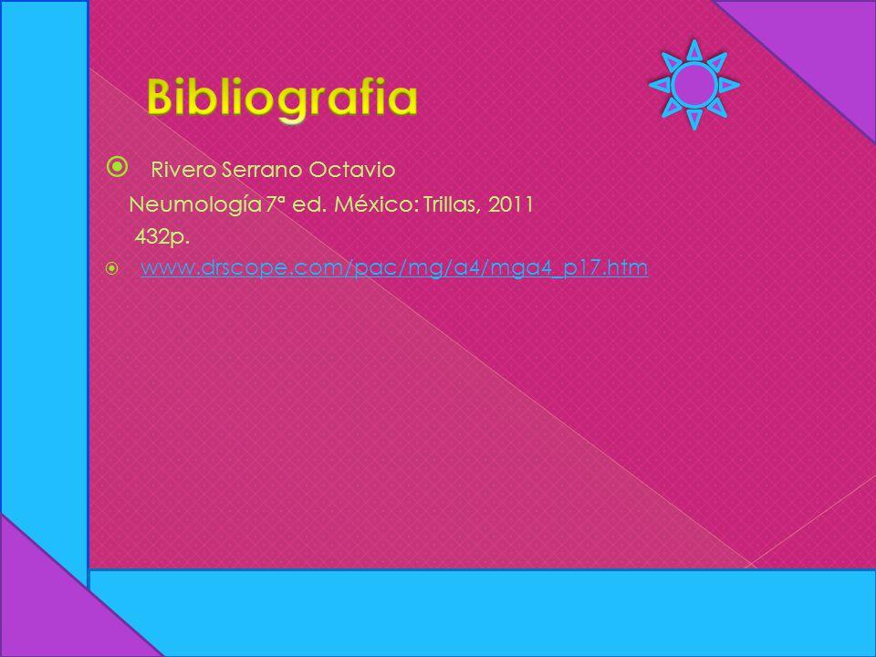 Bibliografia Rivero Serrano Octavio