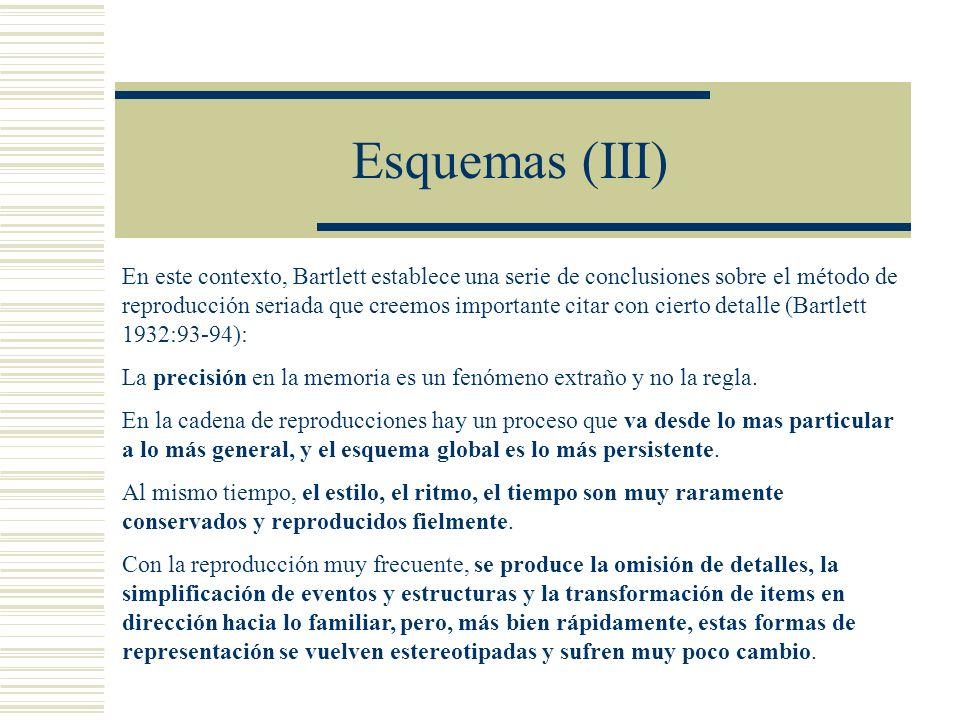 Esquemas (III)