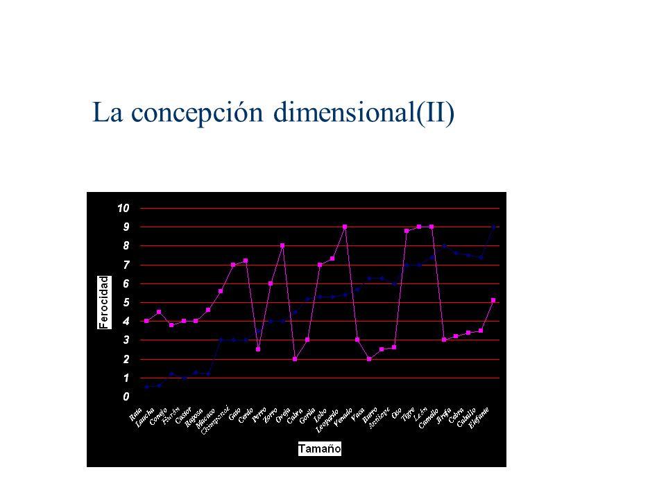 La concepción dimensional(II)