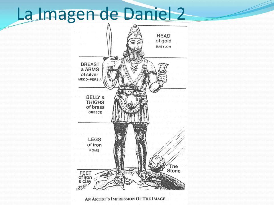 La Imagen de Daniel 2 5.2 (5) CABEZA de oro Babilonia -------------