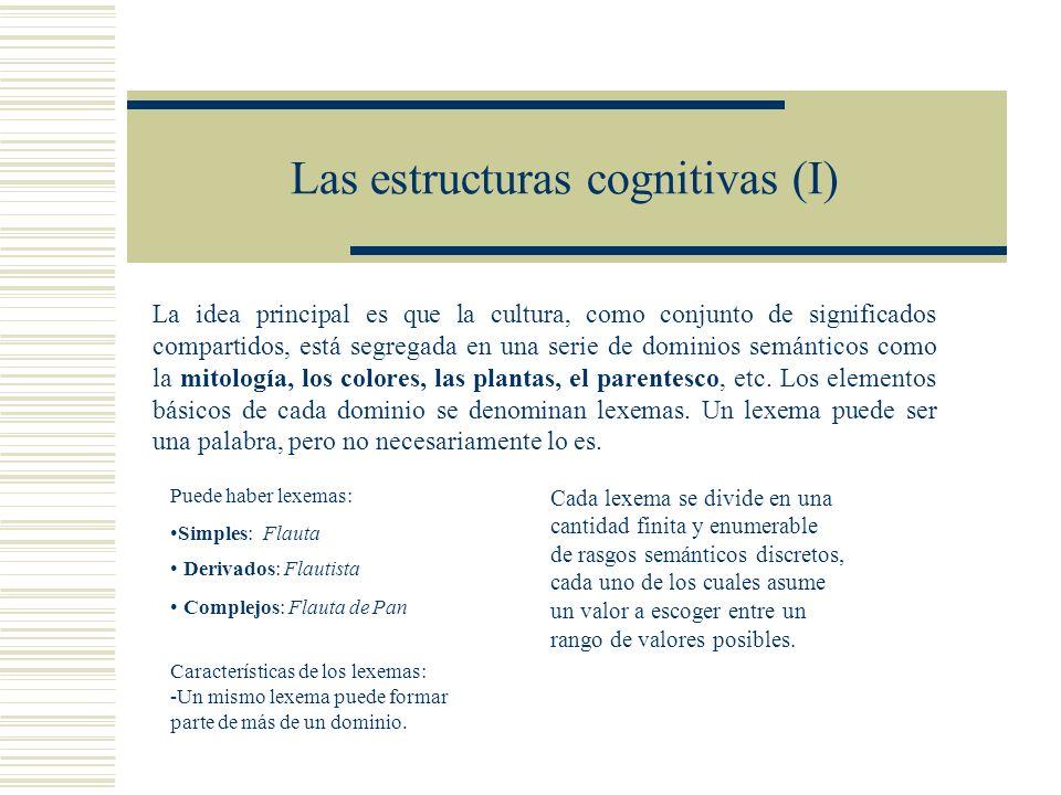 Las estructuras cognitivas (I)