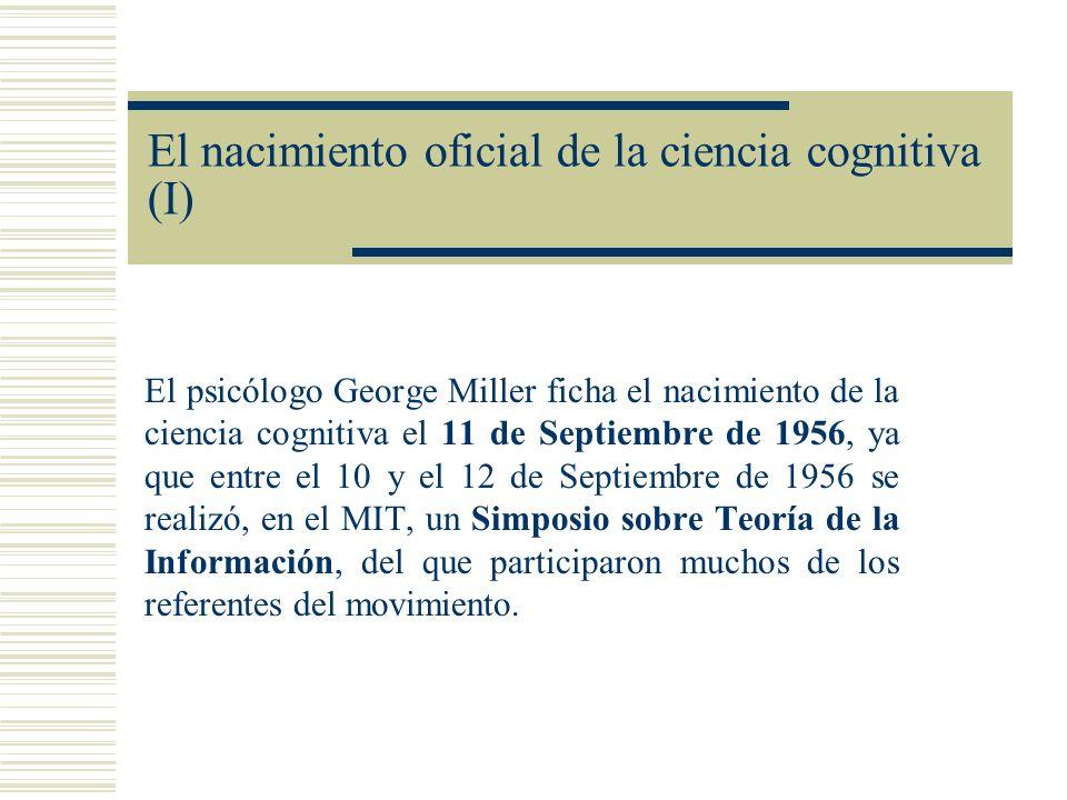 El nacimiento oficial de la ciencia cognitiva (I)