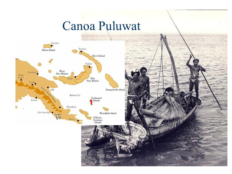Canoa Puluwat