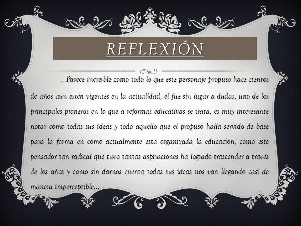 Reflexión