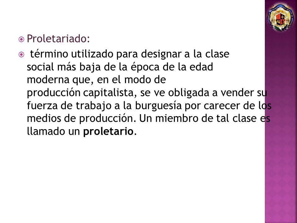 Proletariado:
