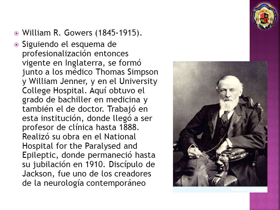 William R. Gowers (1845-1915).