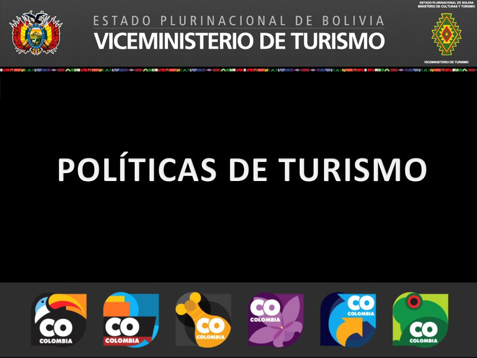 POLÍTICAS DE TURISMO