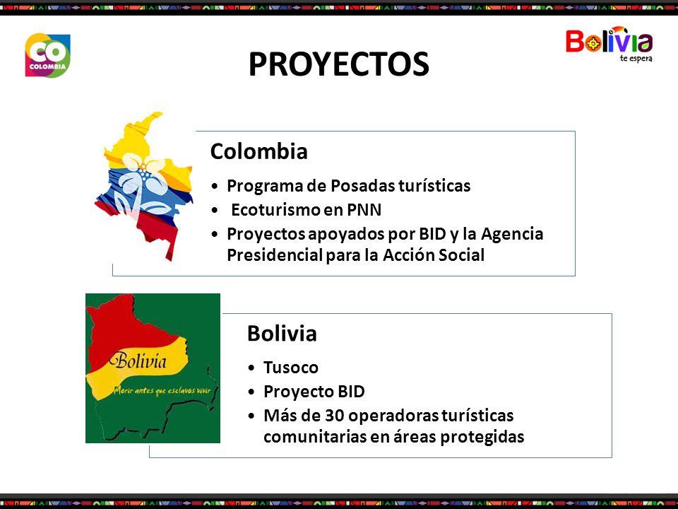 PROYECTOS Colombia Bolivia Programa de Posadas turísticas