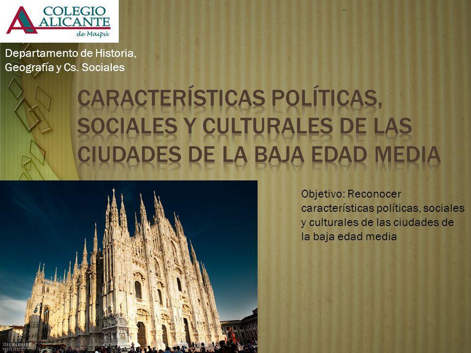 Departamento de Historia, Geografía y Cs. Sociales