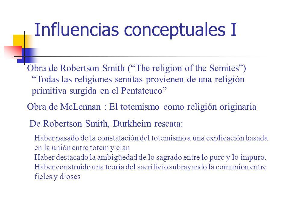Influencias conceptuales I