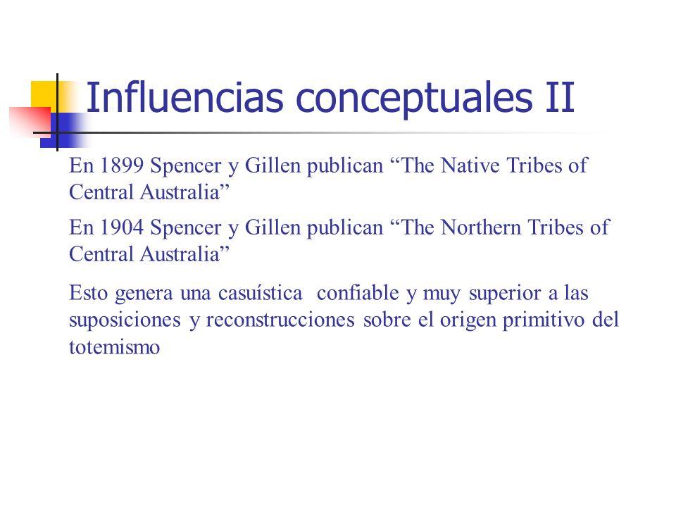 Influencias conceptuales II