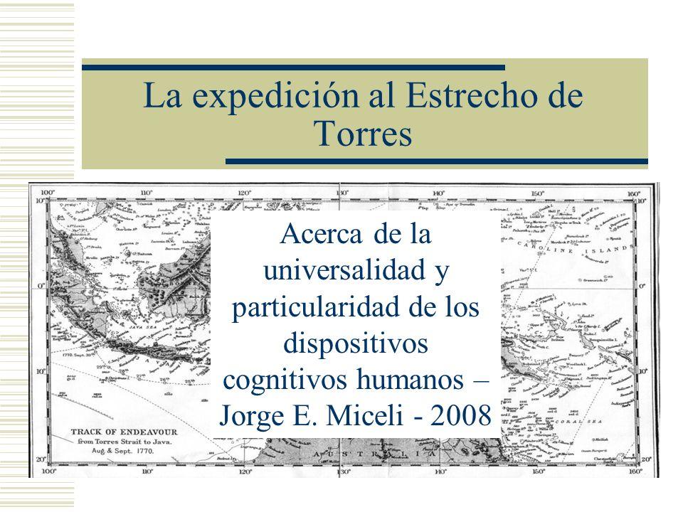La expedición al Estrecho de Torres