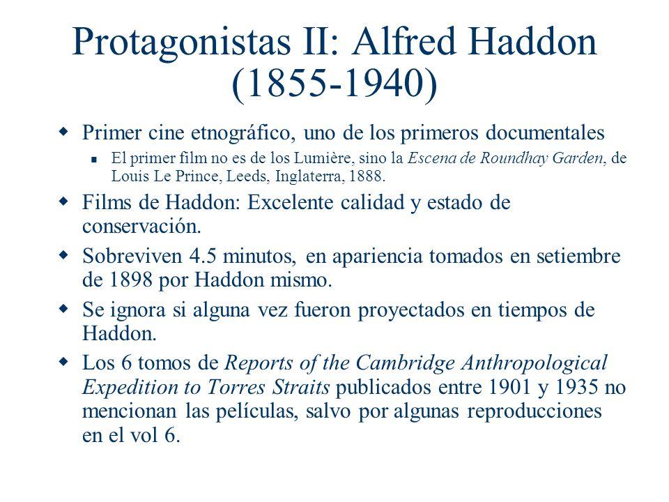 Protagonistas II: Alfred Haddon (1855-1940)