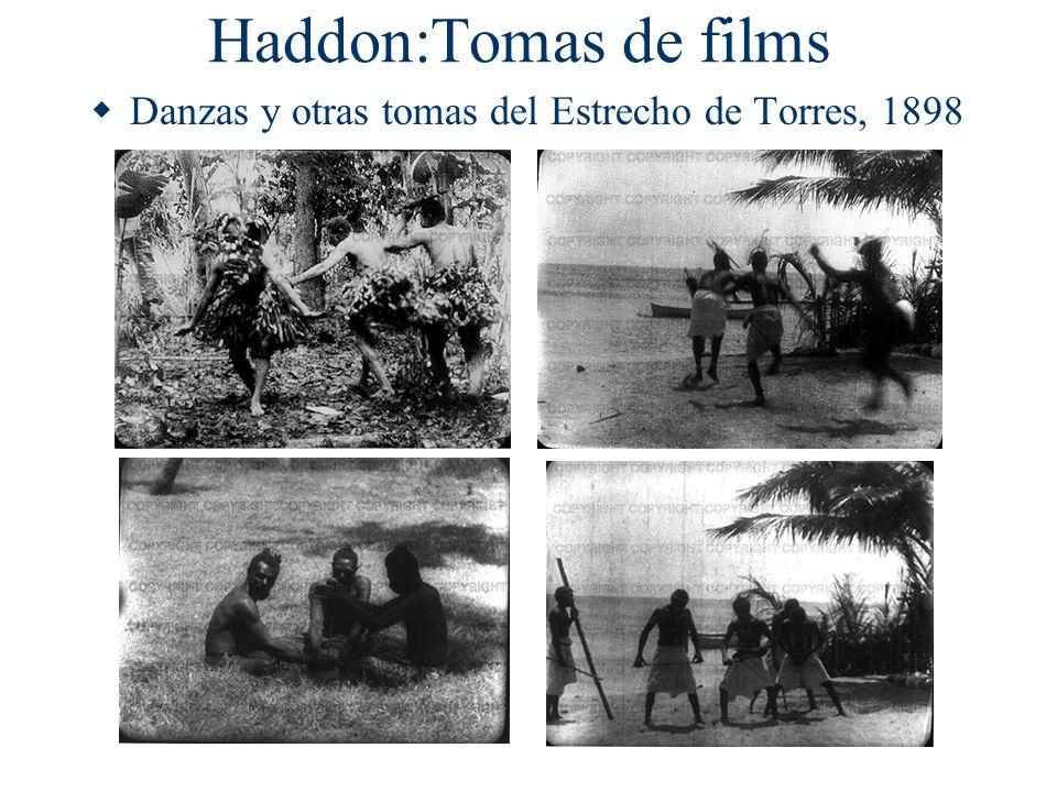 Haddon:Tomas de films Danzas y otras tomas del Estrecho de Torres, 1898