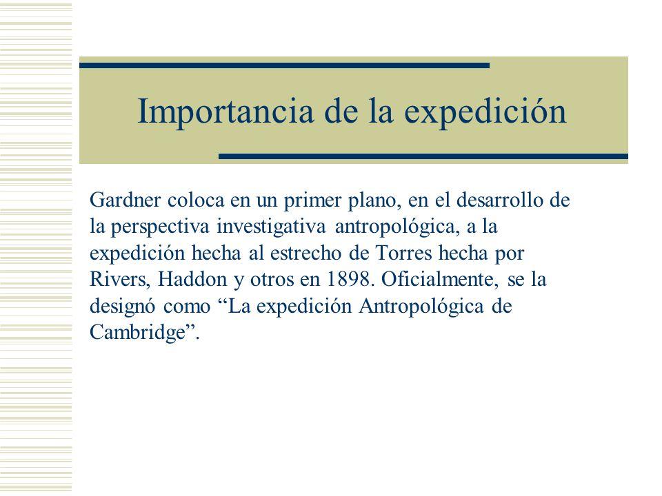 Importancia de la expedición