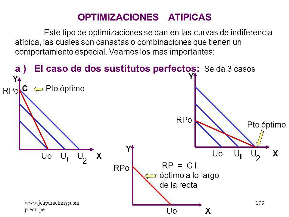 OPTIMIZACIONES ATIPICAS