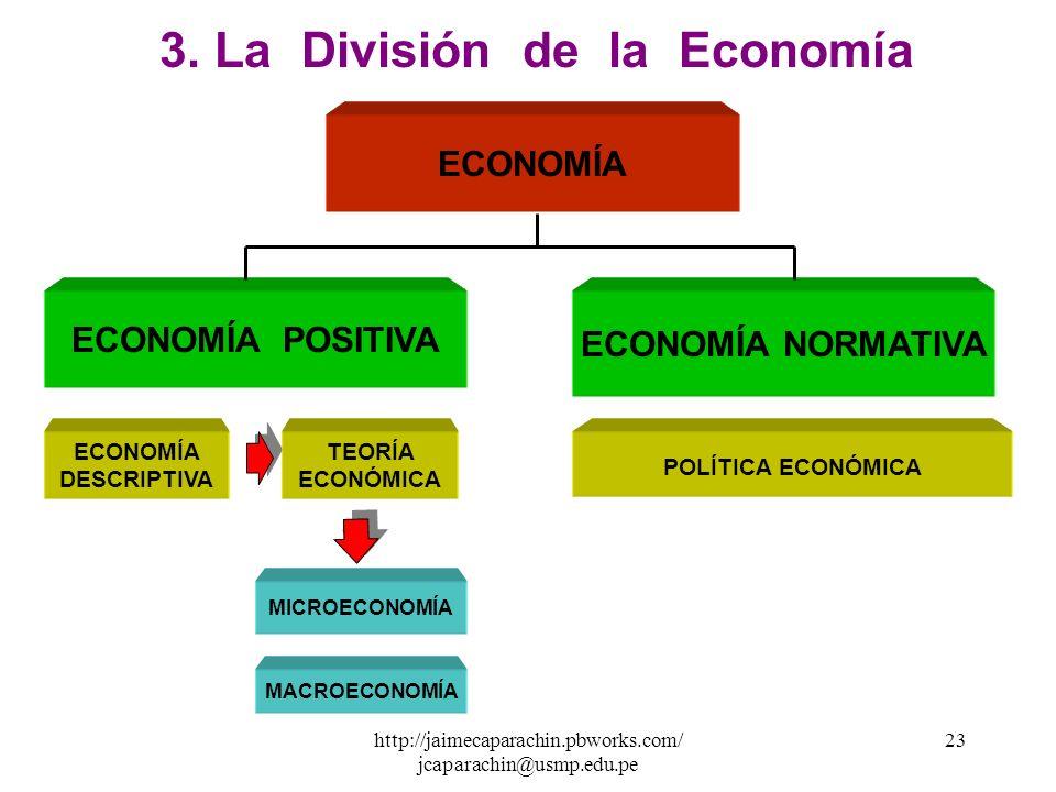 3. La División de la Economía