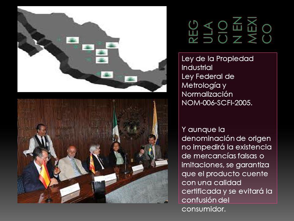 REGULACION EN MEXICO Ley de la Propiedad Industrial