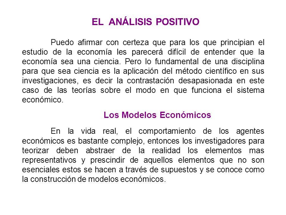 Los Modelos Económicos