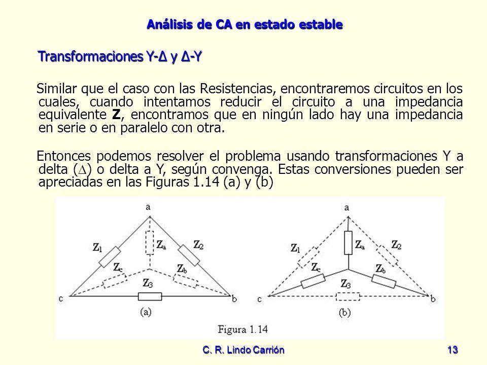 Transformaciones Y-Δ y Δ-Y