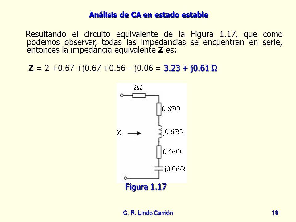 Resultando el circuito equivalente de la Figura 1