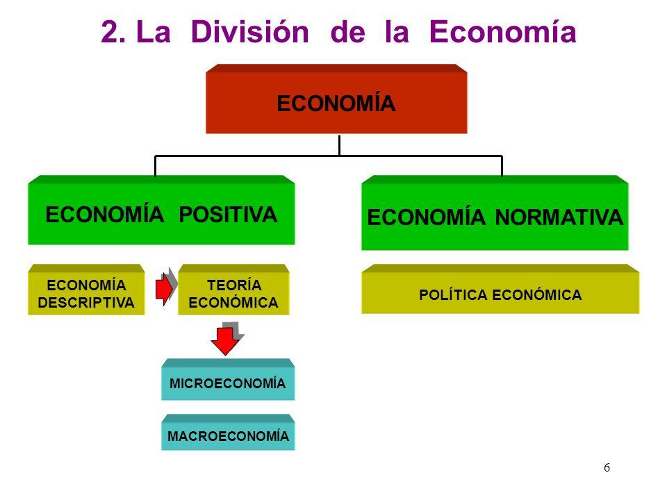 2. La División de la Economía