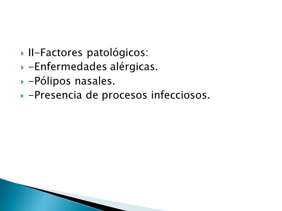 II-Factores patológicos: