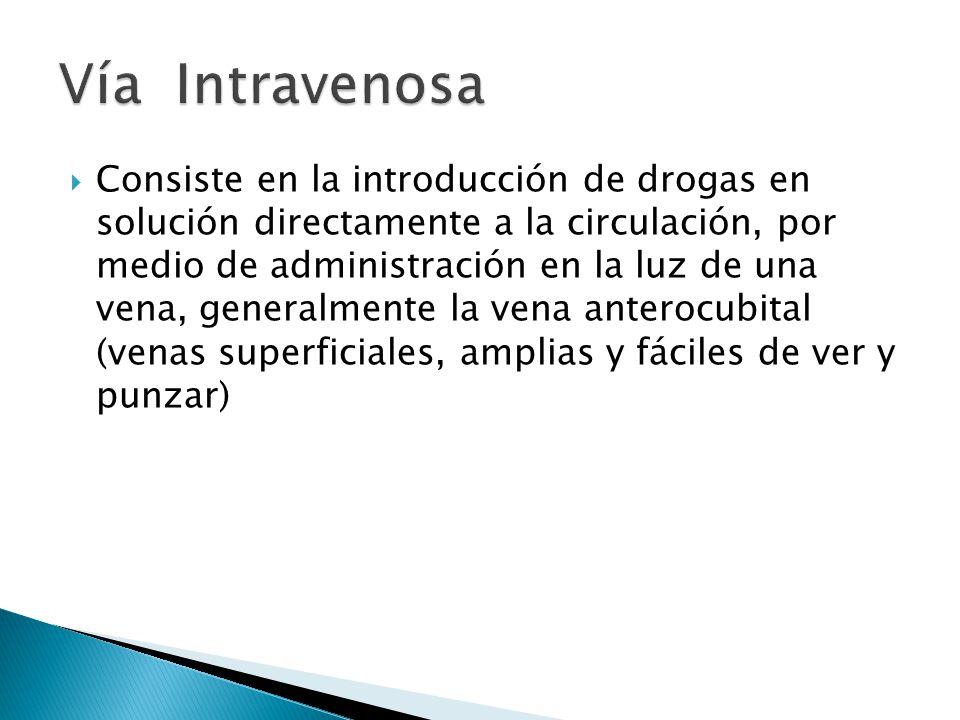 Vía Intravenosa