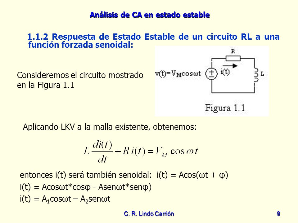 Consideremos el circuito mostrado en la Figura 1.1