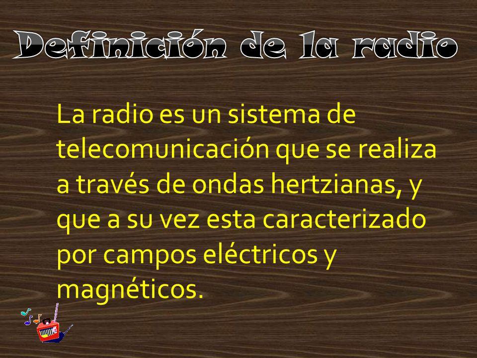 Definición de la radio