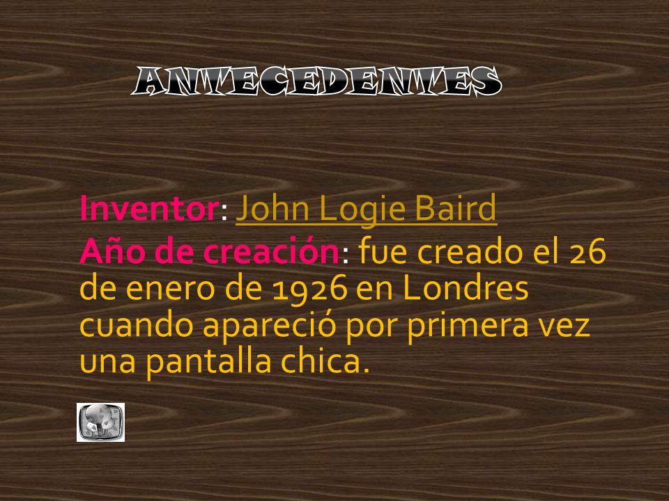 Inventor: John Logie Baird