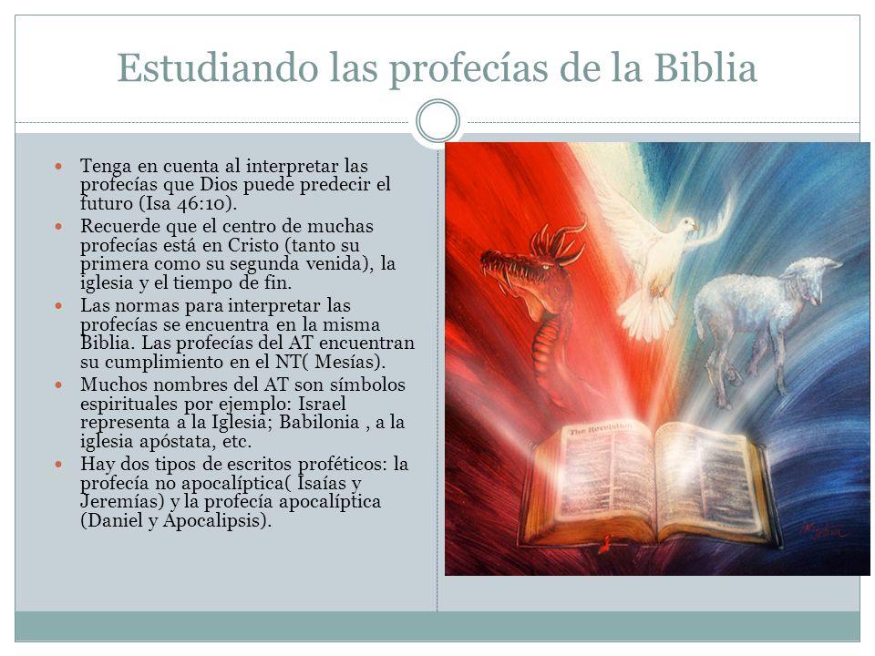 Estudiando las profecías de la Biblia