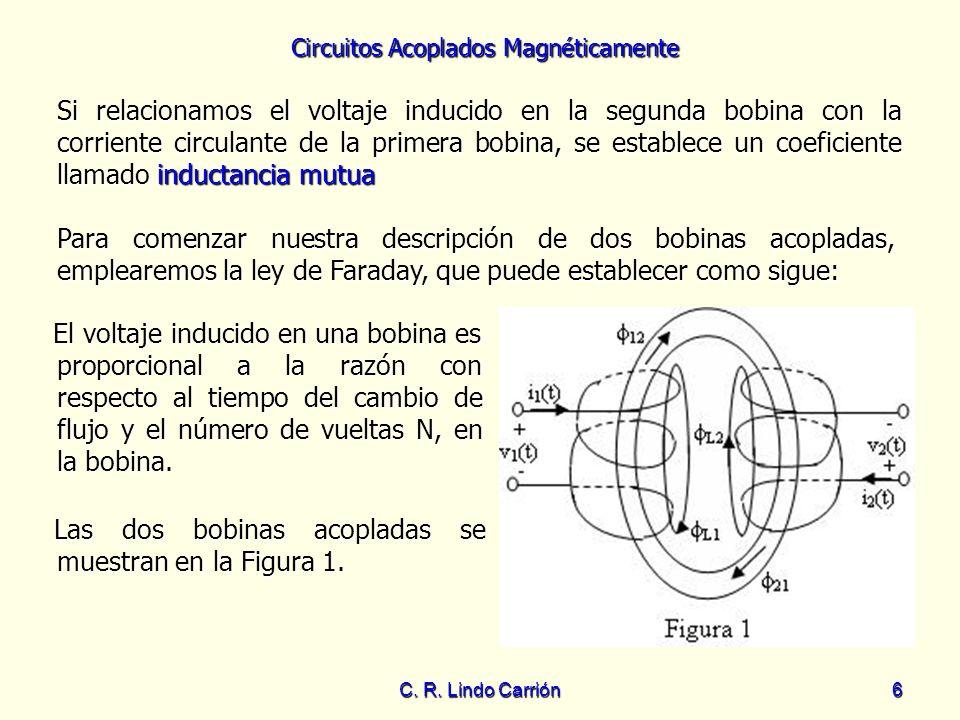 Las dos bobinas acopladas se muestran en la Figura 1.