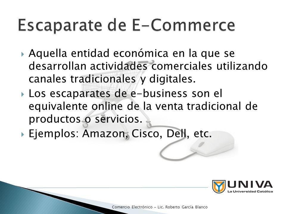 Escaparate de E-Commerce